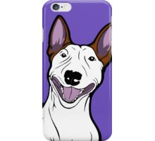 Excited Bull Terrier  iPhone Case/Skin