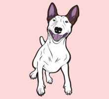 Excited Bull Terrier  One Piece - Long Sleeve