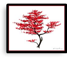Natural Red Canvas Print