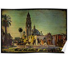 Sunset On El Prado Poster