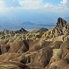 Zabriski Point. Death Valley, Nevada by mypic