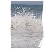 Waves Crash Poster