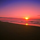 Golden Beach Sunrise by James Cole
