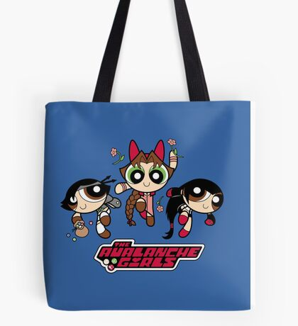 Avalanche Girls Tote Bag