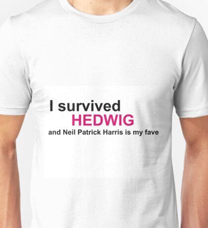 I Survived Hedwig (NPH) Unisex T-Shirt