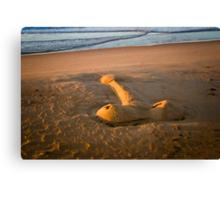 The Giant Sand Knob of Golden Beach Canvas Print