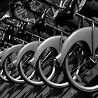 Bicycles in Paris, France by mypic