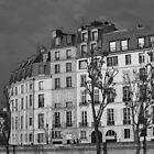 Across the Seine, Paris by mypic