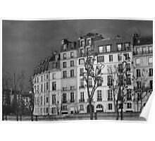 Across the Seine, Paris Poster