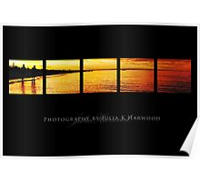 Sunset on black ~ Signature Series Poster