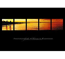 Sunset on black ~ Signature Series Photographic Print