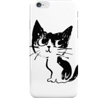 Sketch of cat iPhone Case/Skin