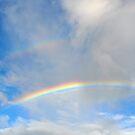 Double Rainbow in the Sky by Coralie Plozza