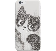 Portrait of a kitten iPhone Case/Skin