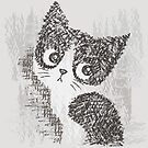 Portrait of a kitten by Toru Sanogawa