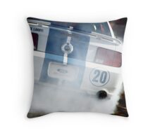SMOKING MUSTANG Throw Pillow