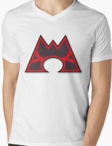 Team Magma Mens V-Neck T-Shirt