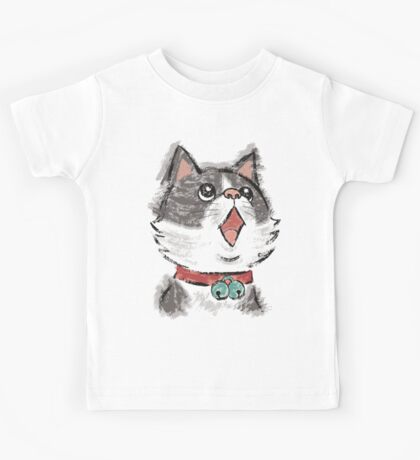 Cat wearing bells Kids Clothes