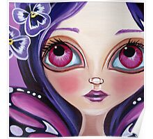 """""""Pansy Fairy"""" Poster"""