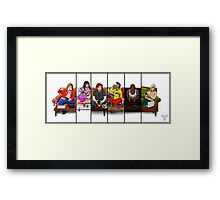 The Virtual Couch - Destiny Framed Print