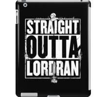 Straight Outta Lordran iPad Case/Skin