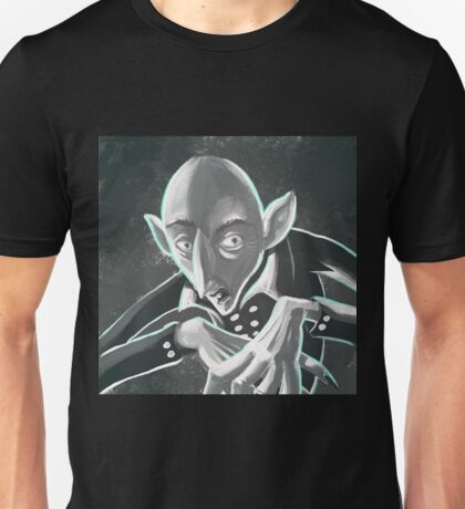 Spooky nosferatu vampire Unisex T-Shirt
