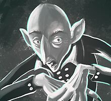 Spooky nosferatu vampire by matintheworld