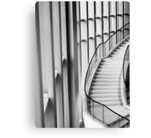 Up and downstairs- Hotel Foyer in Hong Kong Canvas Print