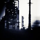 Oil Refinery by Susan Grissom
