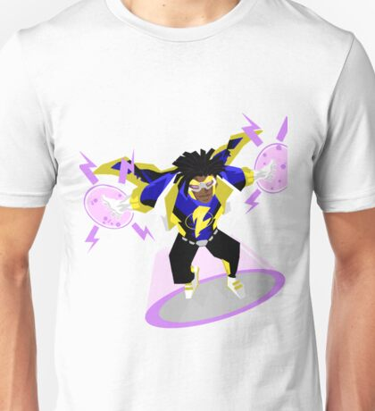 Detective Comics Presents: Superhero Static Shock! Unisex T-Shirt