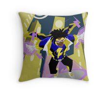 Detective Comics Presents: Superhero Static Shock! Throw Pillow