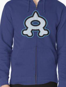 Team Aqua Zipped Hoodie