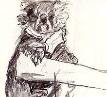 Koala Bear Wink by WoolleyWorld