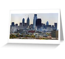 Philadelphia City, A Gigapixel image ( Please visit the zoomable version.) Greeting Card