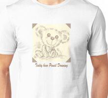 Teddy bear Pencil Drawing Unisex T-Shirt