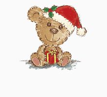 Teddy bear at Christmas Unisex T-Shirt