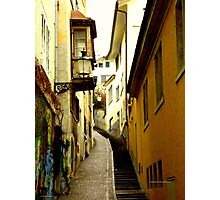 Trittligasse, in Zurich Niederdorf Photographic Print