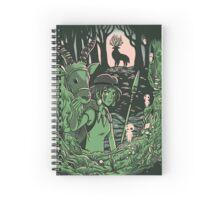 Den of the Night Walker Spiral Notebook