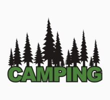 Camping Forest by LudlumDesign