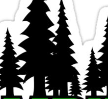 Camping Forest Sticker