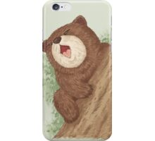 Bear on tree iPhone Case/Skin