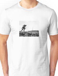 Battle Of Okinawa Painting  Unisex T-Shirt