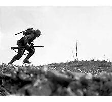 Battle Of Okinawa Painting  Photographic Print