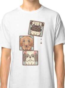Square Dogs Classic T-Shirt
