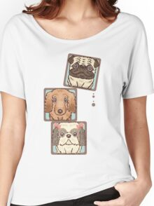 Square Dogs Women's Relaxed Fit T-Shirt