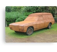 Rusty Holden Panel Van Canvas Print