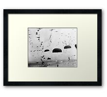 Airborne Mission During WW2 Painting Framed Print