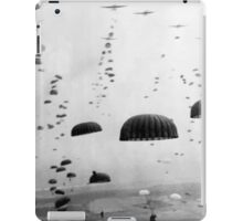 Airborne Mission During WW2 Painting iPad Case/Skin