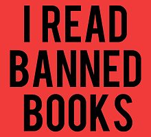 I Read Banned Books - Red by bboutique