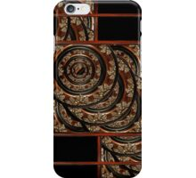 Ornament Wood Composition iPhone Case/Skin